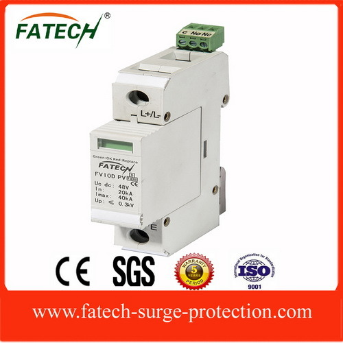 48VDC Imax 20kA Solar Panel Surge Protector