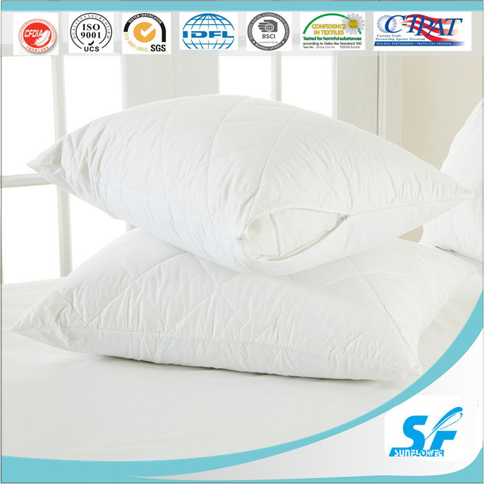 Hot Sale Quilt Hotel Pillow Protector Made in China