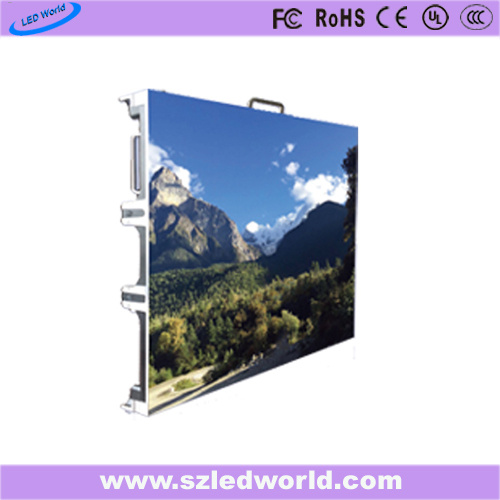 Outdoor/Indoor Die-Casting Fixed Full Color Rental LED Display Panel Screen for Advertising (P5, P10)