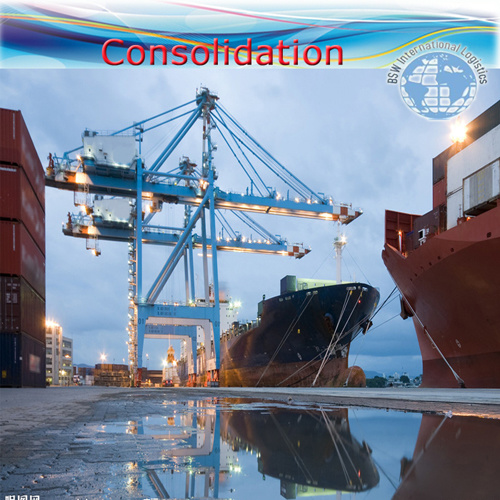 """Logistics Shipping Services / Consolidation / Ocean Transportation (FCL 20′ 40"""")"""
