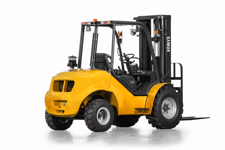2WD Rough Terrain All Terrain Forklift 1.8-3.5ton