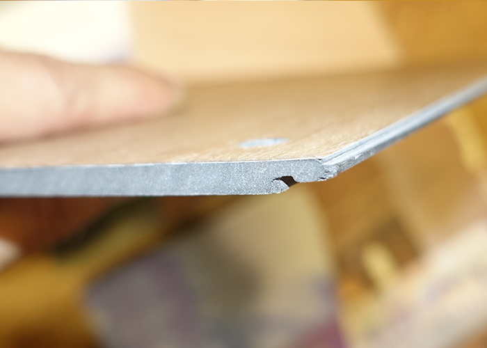 Non Slip Wood Look Luxury Click PVC Vinyl Flooring