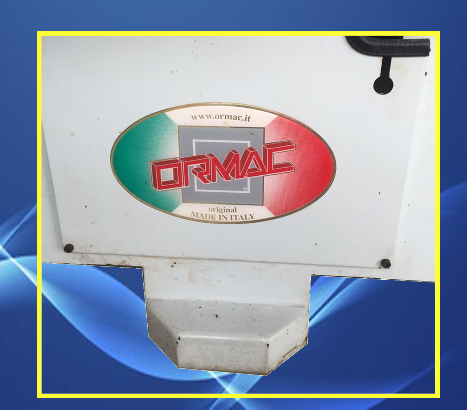 Reconditioned Italy Toe Lasting Machine (ORMAC 833)