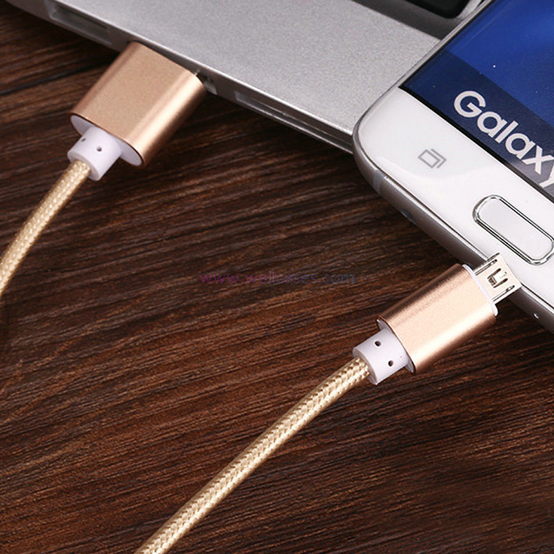 New TPE 2 in 1 Android/Apple USB Data Wire Charging Cable