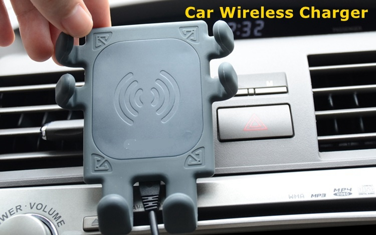 Qi Wireless Charger Car Mount Holder