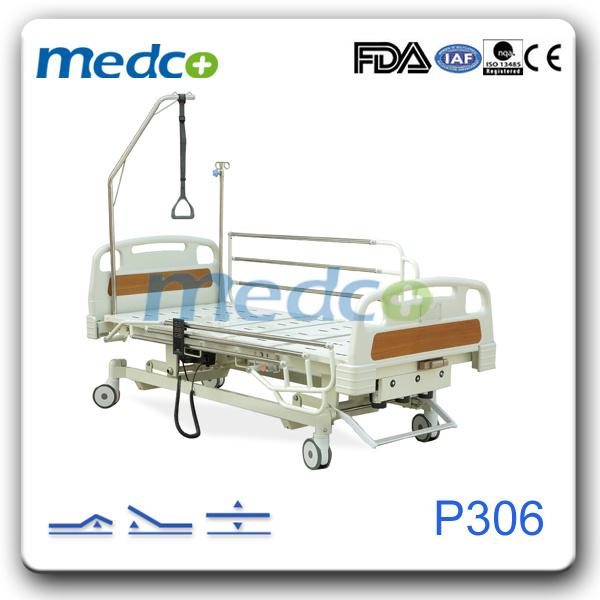 3 Function Nursing Hospital Patient Electric Bed