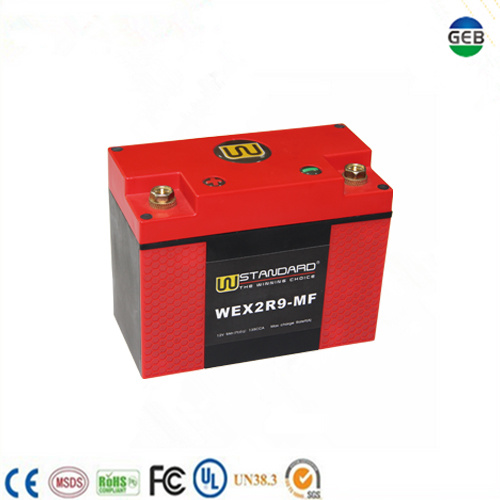 CE/UL Approved High Efficiency High Safety Low Temperature Motorcycle Starter Battery