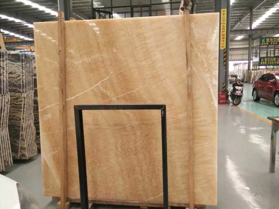 Marble Stone Slab/Yellow Onyx/Honey Onyx (YY-OS5520)