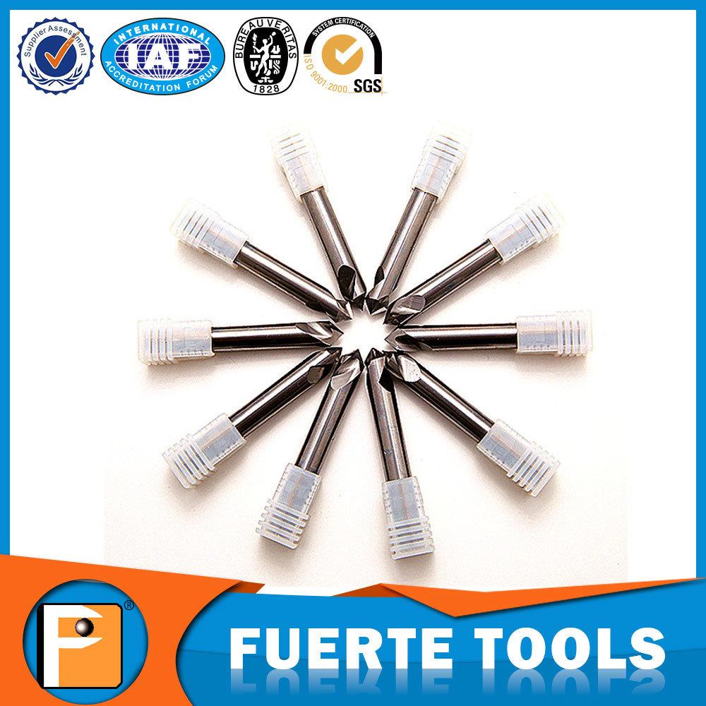 Solid Carbide Spot Drill Bit for Aluminum