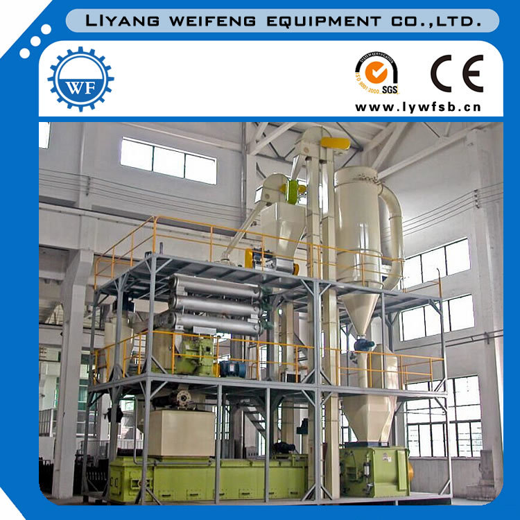Best Selling 5t/H Animal Feed Production Line Plant Manufacturer