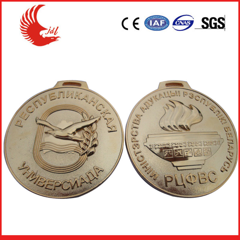 High Quality 3D Embossed Soldier Military Medal