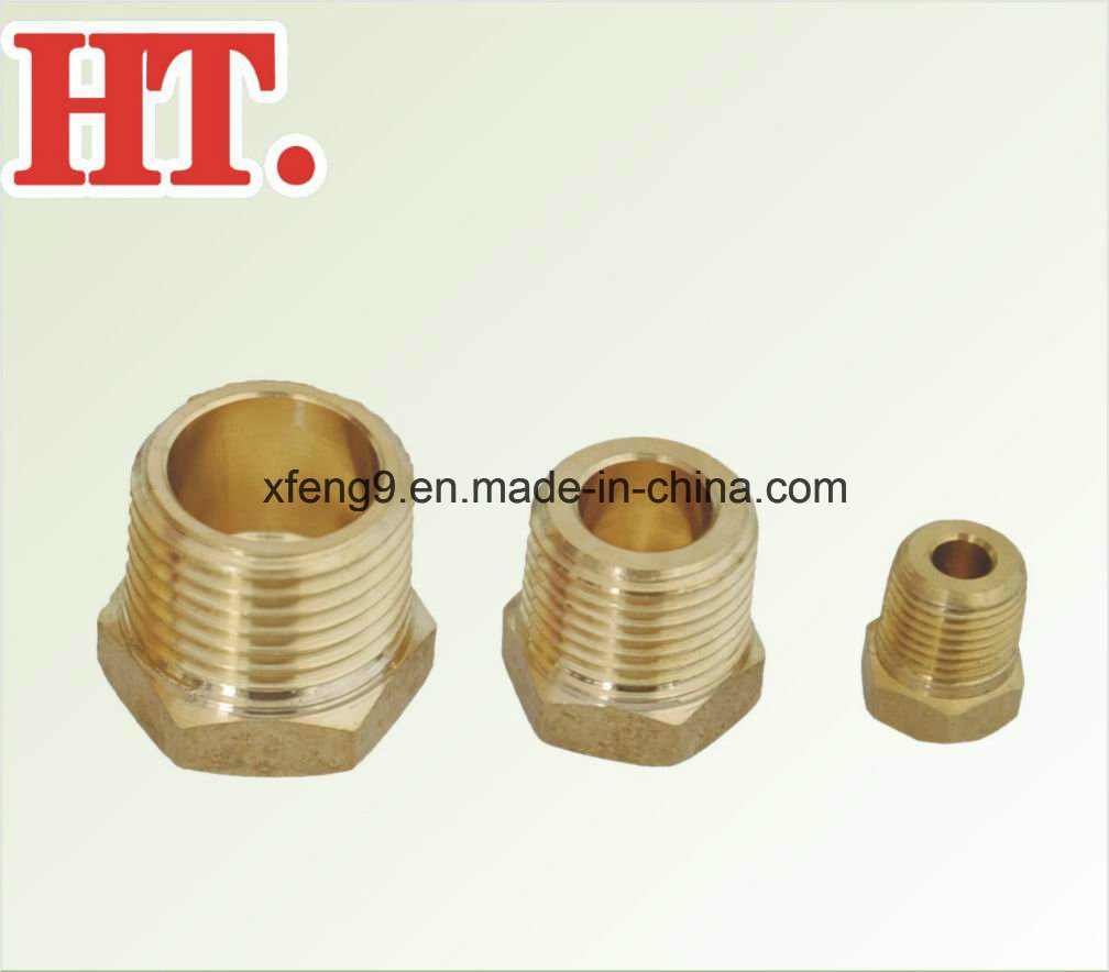 Hex Head Plug (MIP) for Brass Plug Fitting