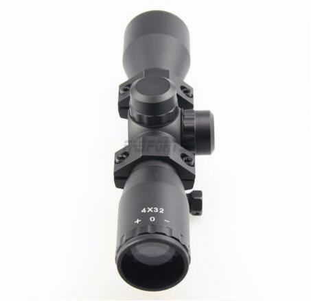 Tactical 4X32 Compact. 223.308 Scope /W Rings