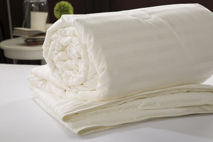 Taihu Snow Silk Best Selling White Colour 100% Mulberry Silk Quilt