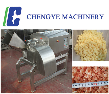 1500kg/H Meat Dicing Machine Drd450 with CE Certification
