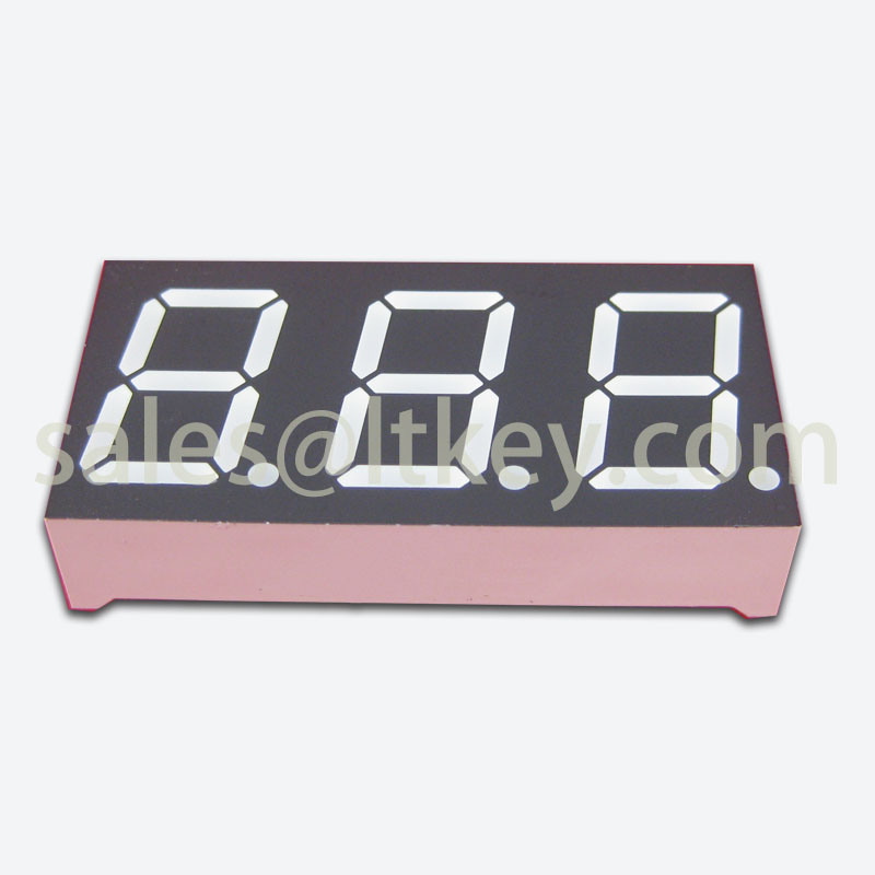 0.56 Inch 3 Digit 7 Segment LED Display