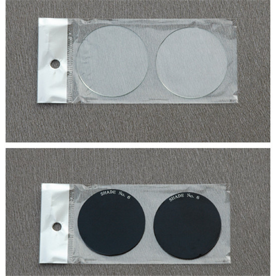 Round Black Welding Glass with CE Approved DIN13