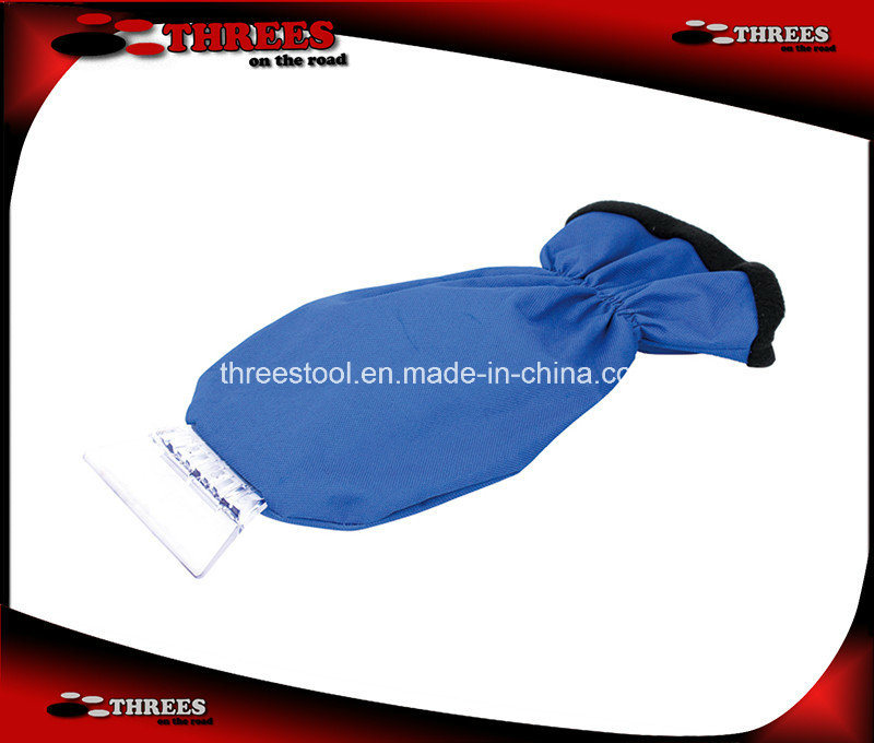 Promotional Car Ice Scraper with Glove (1507103)