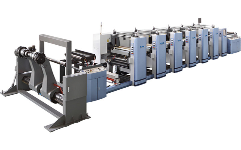 High Quality 6 Color Nonwoven Printing Machine with Computer Control