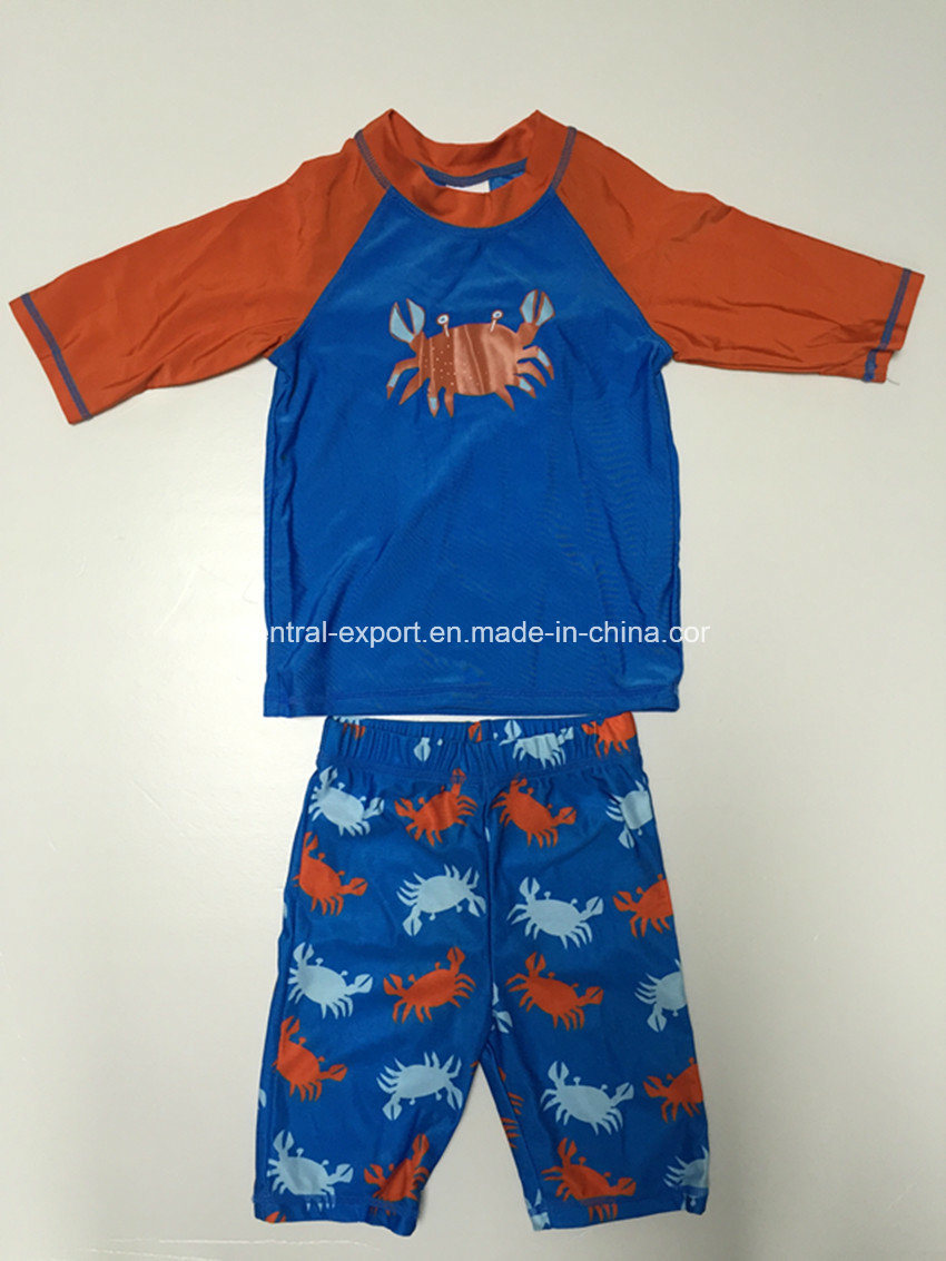 Picture Printed New Style Boy Swimwear