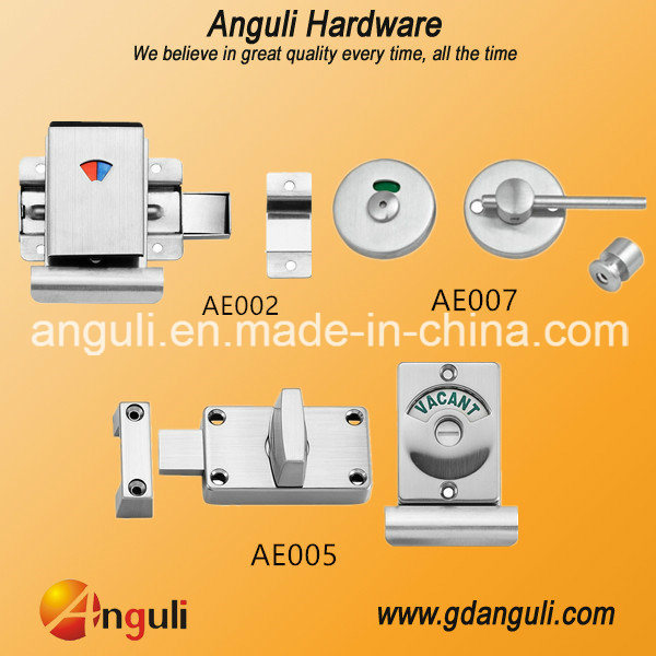 Ae002 Toilet Partition Latch/Indication Door Bolt