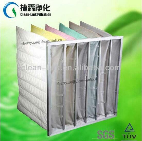 F5-F8 Medium Pocket Filter for Ahu Ventilation System