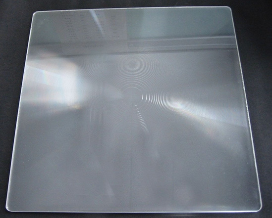 1.2 *1.1m Optical Linear Solar Fresnel Lenses for Solar Concentrator