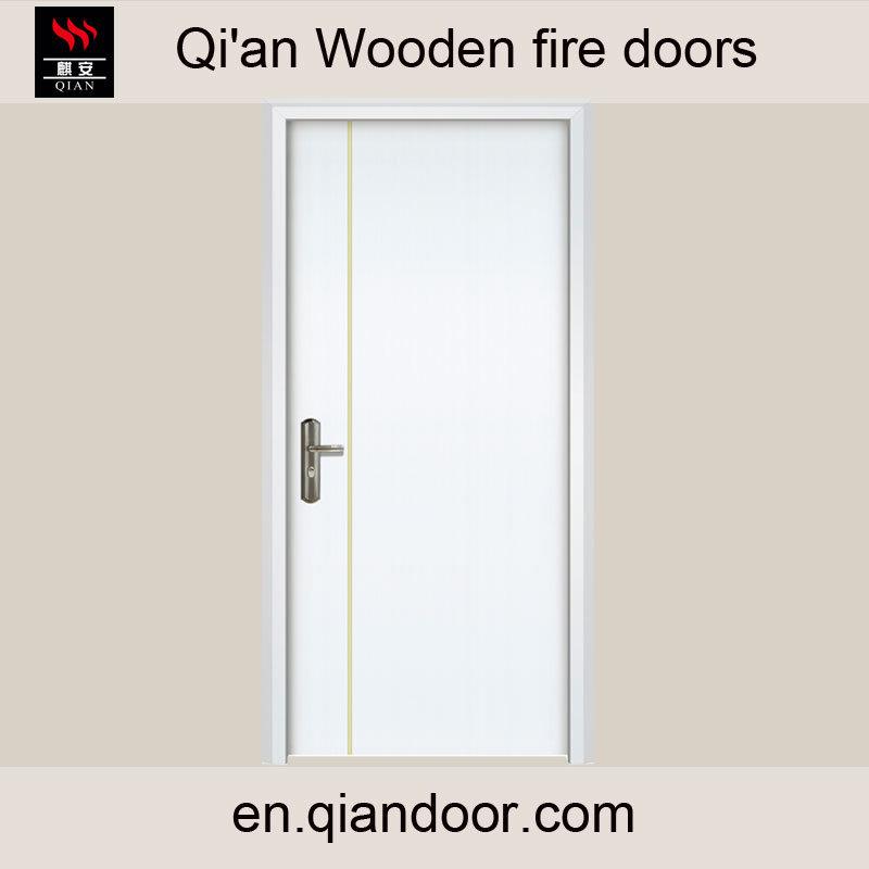 Western Style American Door Wooden Fire Door