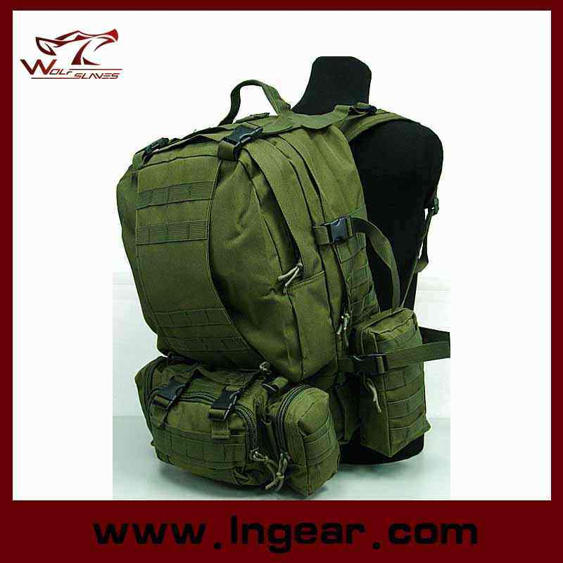 Military Tactical Molle Assault Combination Backpack for Camping
