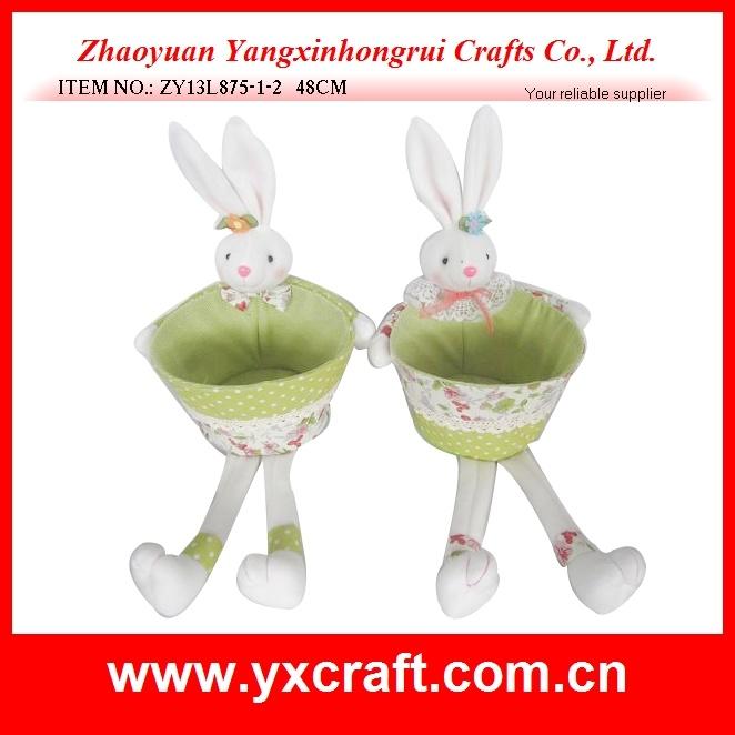 Easter Decoration (ZY13L875-1-2) Storage Basket Easter Gift