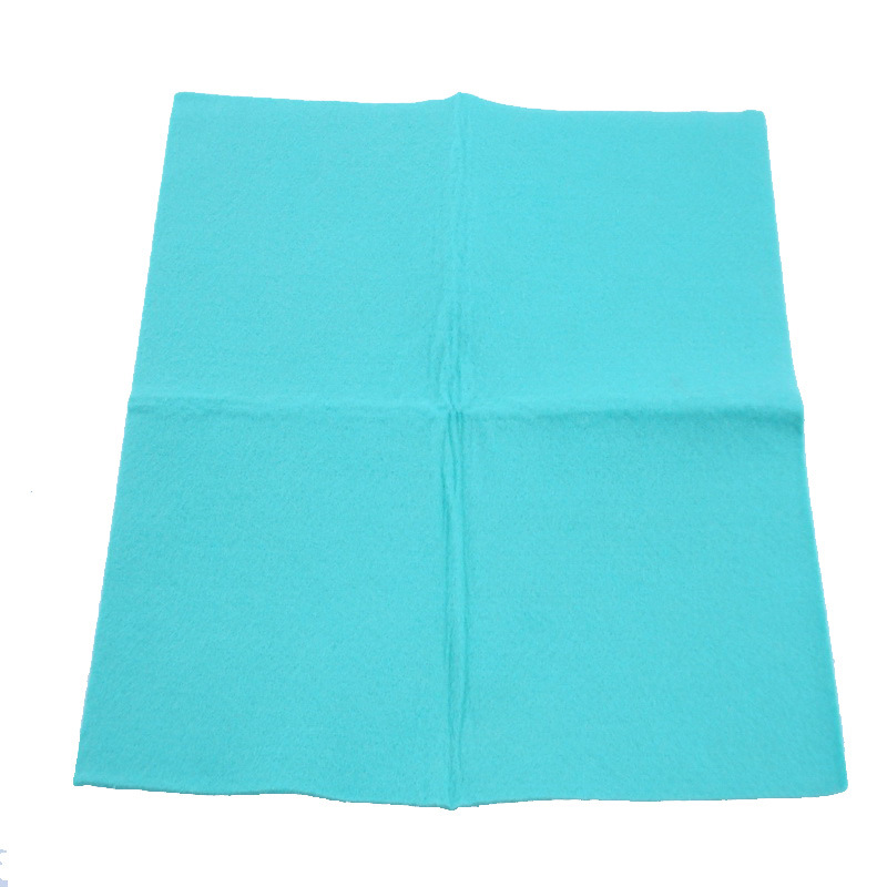 Viscose and Polyester Germany Style Needle Punched Nonwoven Fabric All Purpose Cleaning Cloth