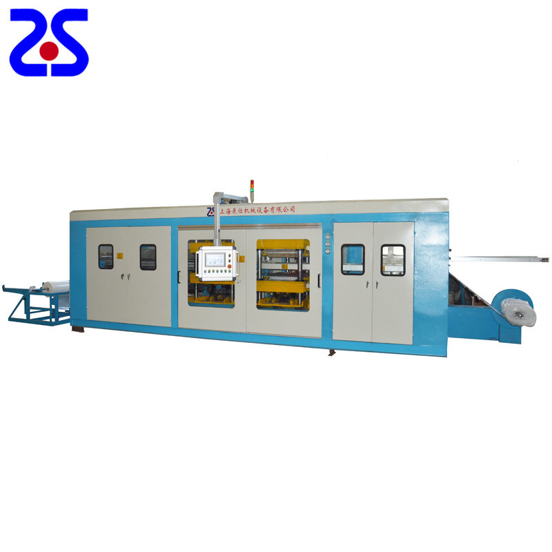 Zs-5567 Thin Gauge Pressure Full Automatic Vacuum Forming Machine