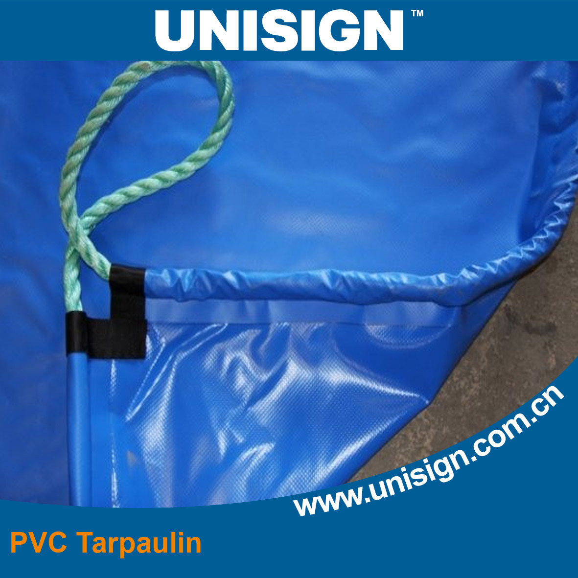 0.55m Reinforced PVC Vinyl Fitted Truck Cover