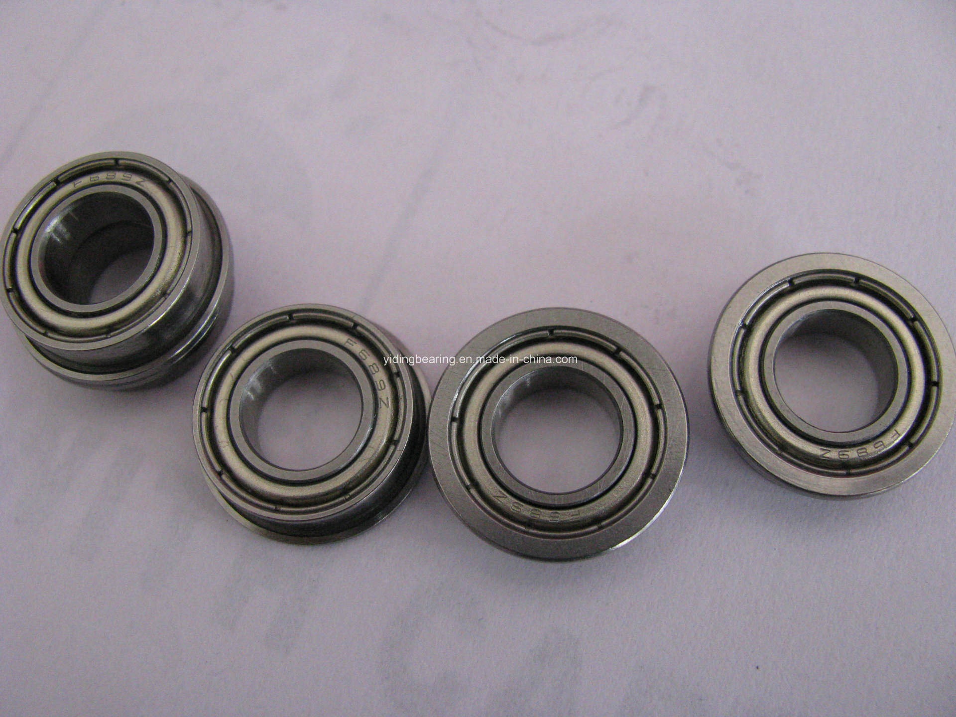 High Precision Flanged Deep Groove Ball Bearing F623zz