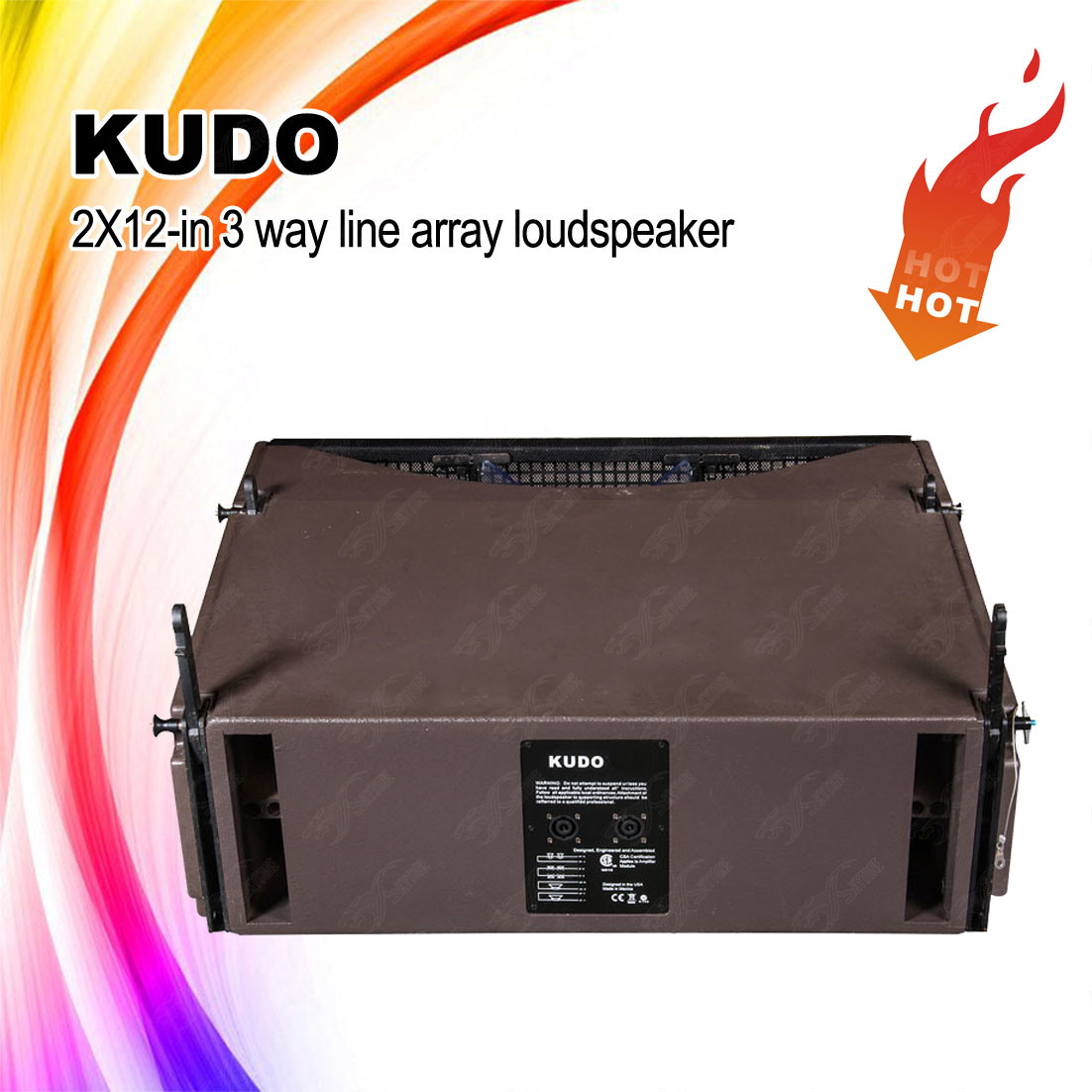 Kudo Dual 12 Inch Line Array Professional Loudspeaker
