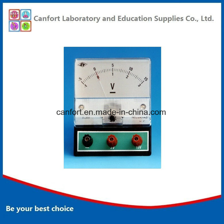 Lab Equipment Educational Equipment DC Voltmeter J0408 (flat) with High Quality