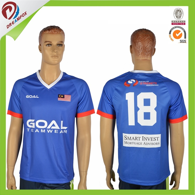 Team Custom Sublimation Cheap Wholesale Soccer Jerseys