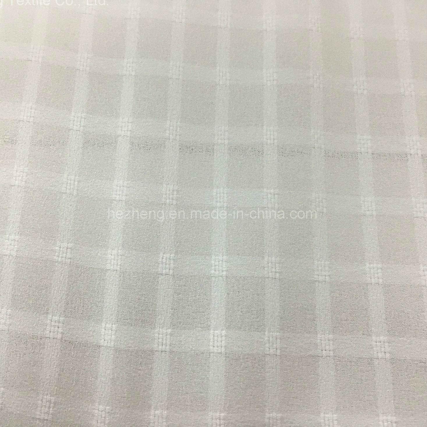 Hzs00330 Polyester Check Chiffon