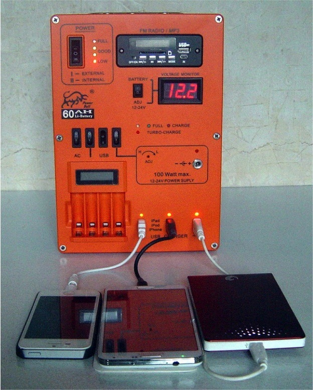 Solar Generator and Charger for Outside Using