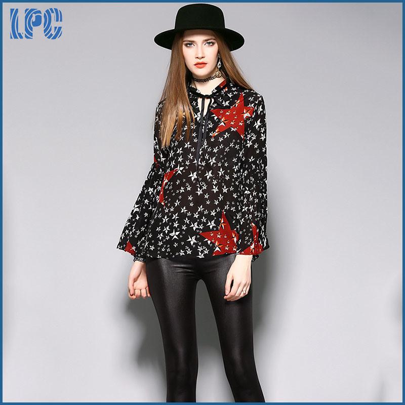 Black Silk Loose Comfortable Fashion Ladies Dress