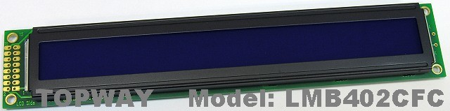 40X2 COB Type Character LCD Display Alphanumeric LCD Module (LMB402C)