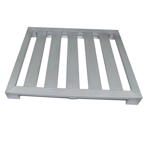 1500kg Loading Aluminum Pallet with Clear Anodized