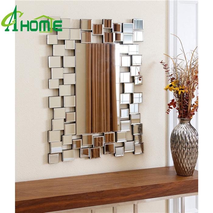 Elegent Rectangle Shaped Home Decor Wall Mirror