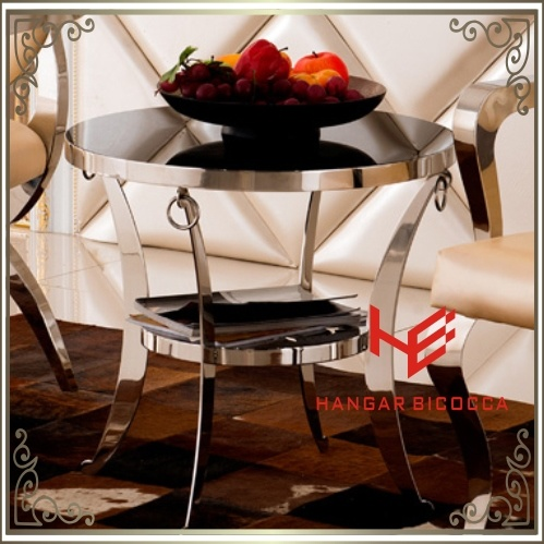Coffee Table (RS161304) Corner Table Stainless Steel Furniture Home Furniture Hotel Furniture Modern Furniture Table Console Table Tea Table Side Table