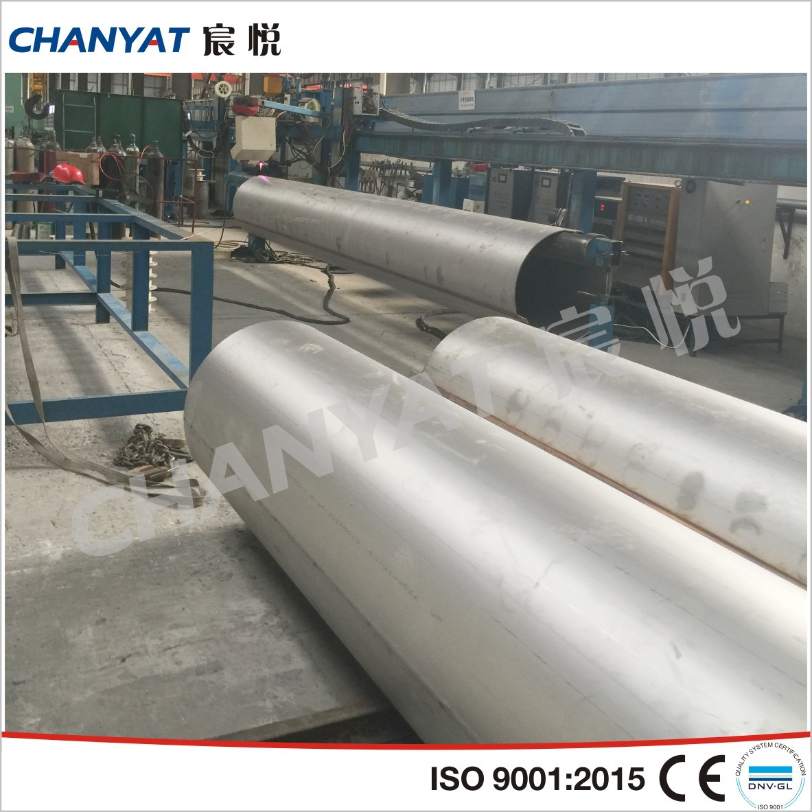 Stainless Steel Welded Pipe for Construction