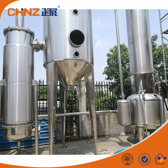 Solid Herbal Extraction Liquid Pharmaceutical Concentration Evaporation Equipment