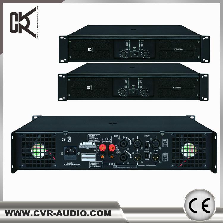 Class H Power Amplifier 4-CH Swiching Model Audio Mixer DJ System