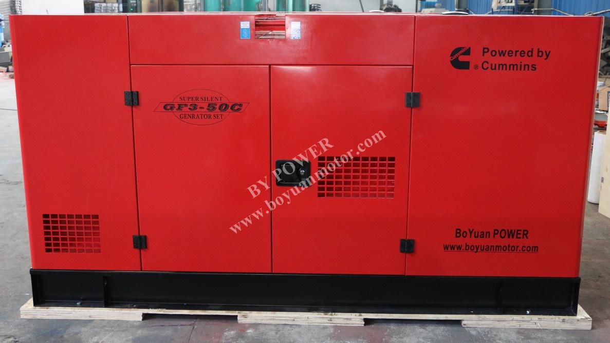 120kw 150kVA Cummins Soundproof Diesel Generator Set