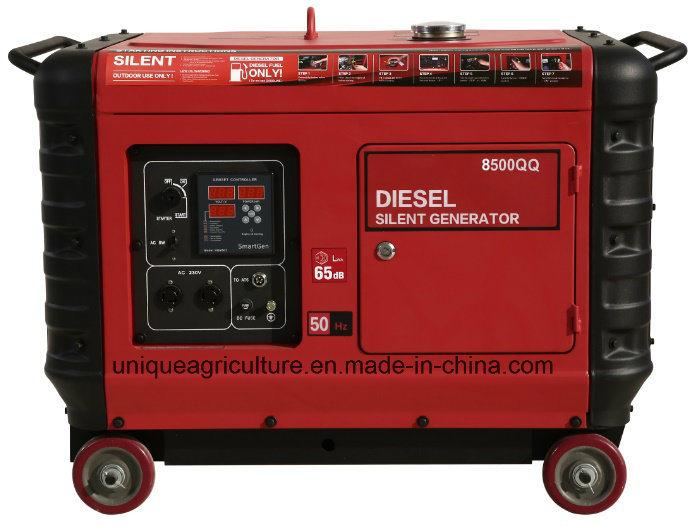 Silent Diesel Generator with Cummins Engine UQ8500QQ