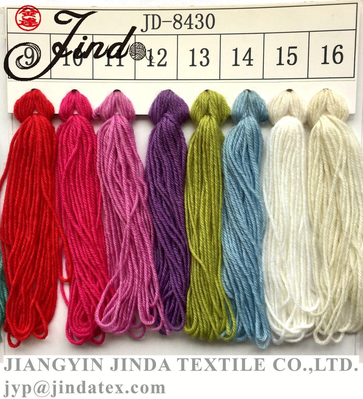Handknitting Yarn Merino Wool Jd8430